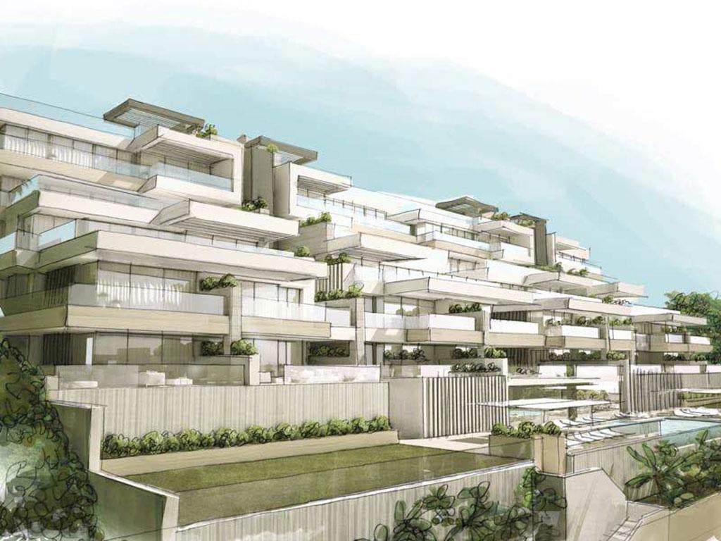 South bay las mesas ultra modern apartments with for Ultra modern apartment